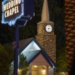 Una cappella per i matrimoni a Las Vegas
