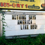 Nothing says America like bbq