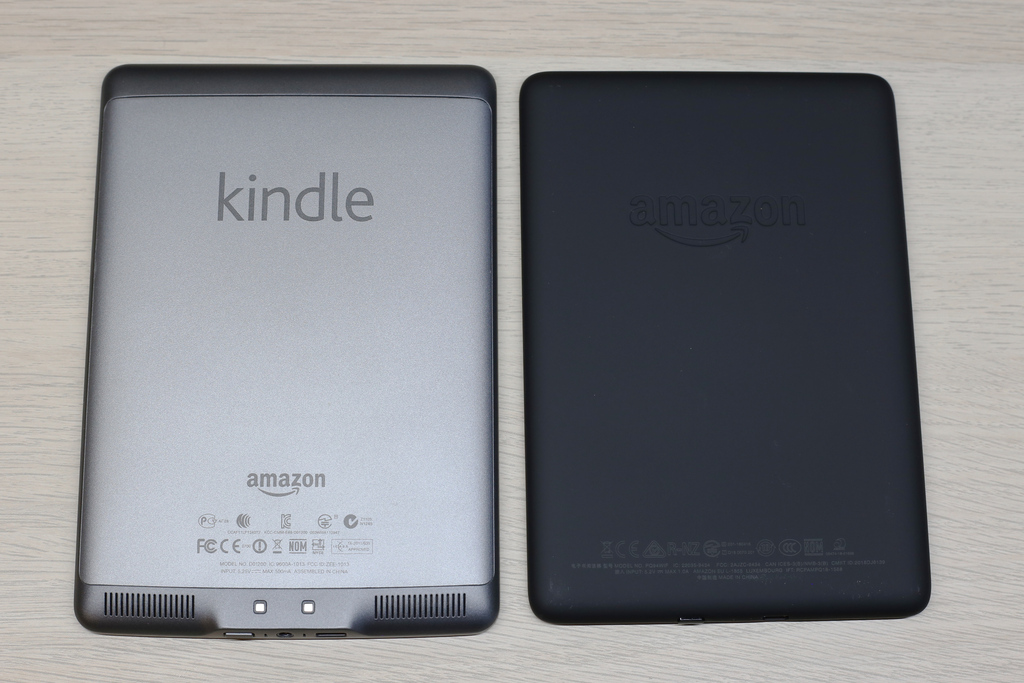 Kindle Touch e Paperwhite di retro